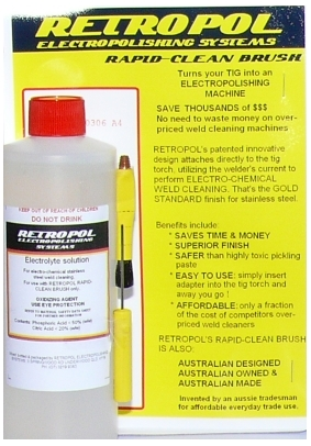 retropol rapid-clean brush starter kit image